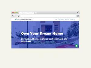 livelihood homes website