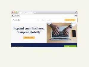 Piscina Bay website